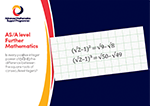 A level Further Mathematics postcard