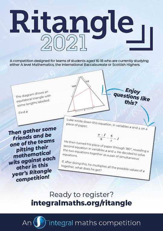 Ritangle 2021 poster